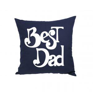 Cadeau pour la fête des pères - Coussin carré Best Dad