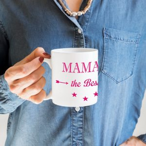 Mug maman the best, cadeau special fete des meres