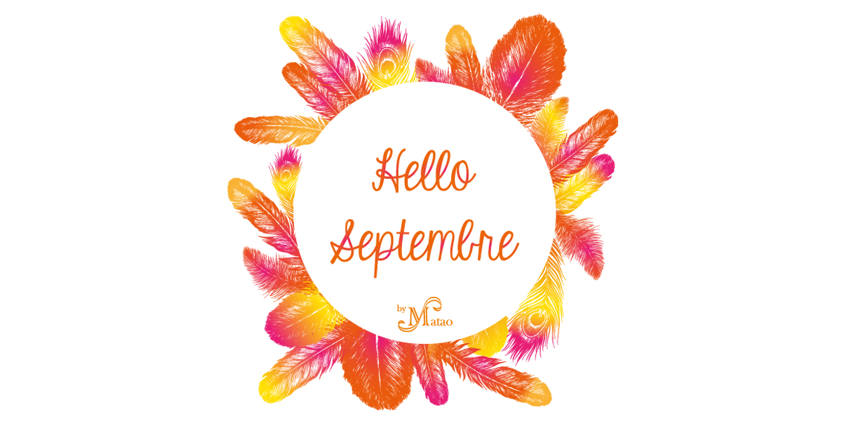 printable hello septembre by Matao