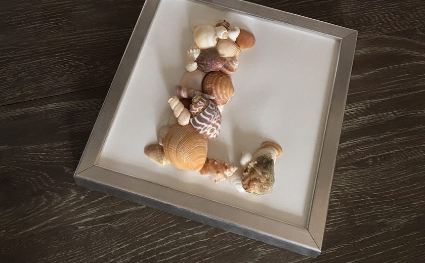 Tableaux de coquillages DIY by Matao