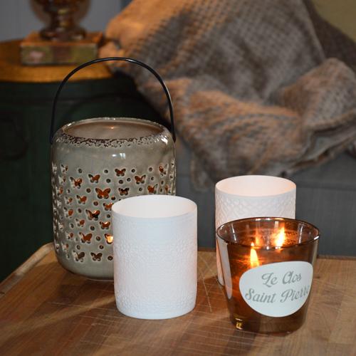 ambiance cosy avec lanterne et photophore by Matao