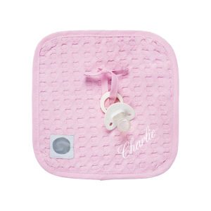 attache tétine doudou collection tricot enfant by Matao